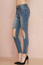 UNIF Peach Pit Skinny Jeans size 27 new with tags