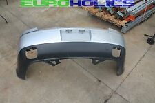 OEM Volkswagen Phaeton 04-06 4.2L Rear Bumper Panel Cover Silver W/O Park Assist