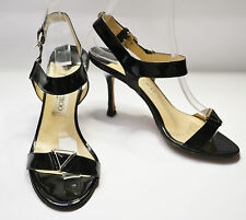 Jimmy Choo Heeled Sandals Black Patent Shoes UK 4 / EU 37 / US 6.5 / 23 cm