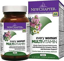 New Chapter Every Woman Women's Multivitamin Fermented with Probiotics + Iron...