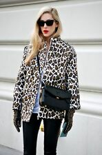 STELLA MCCARTNEY LEOPARD PRINT LINEN JACKET. IT 40/12. Excellent cond. RRP £900