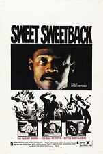 Sweet Sweetback Poster 01 A2 BoX Canvas Print