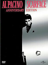 SCARFACE DVD 2 DISC ANNIVERSARY EDITION FULL SCREEN AL PACINO OLIVER STONE FILM