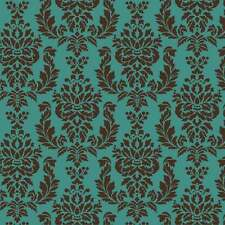 Verde Damask Craft Stencils - Size SMALL - By Cutting Edge Stencils