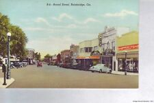 BAINBRIDGE GA 1942 Broad Street with all the Old Cars & Stores VINTAGE GEORGIA