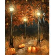 5x7ft Halloween Thin Vinyl Photography Backdrop Background Studio Photo Props