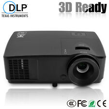 HD DLP Projector 3D Ready for Home theatre School Meeting Movie Video VGA 1080P