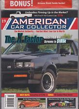 KEITH MARTIN'S AMERICAN CAR COLLECTOR MAGAZINE JAN/FEB+2015 ARIZONA AUCTIONS