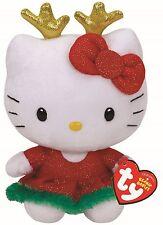 Ty Beanie Babies 41117 Hello Kitty Reindeer Ears