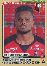 M35 KERMIT ERASMUS SOUTH AFRICA STADE RENNAIS.FC UPDATE STICKER PANINI FOOT 2016