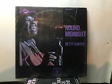 BETTY CARTER - Round Midnight ~ ROULETTE 5001 {nm} *1975* w/Norman Simmons  NICE