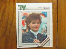 Nov 6-1988 Minneapolis Star Tribune TV Week Magazine(KATE CAPSHAW/RICHARD CRENNA