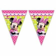 2M DISNEY MINNIE MOUSE palloncini clubhouse PARTY pennant Banner Bunting