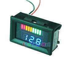 12V Acid Lead Batteries Indicator Battery Capacity Digital LED Tester Voltmeter