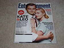 LEO DICAPRIO KATE WINSLET REVOLUTIONARY ROAD 2008 ENTERTAINMENT WEEKLY MAGAZINE