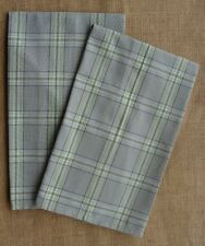 Set of 2 Park Designs MIRAGE  Kitchen Towels - Gray, Green, Blue, Brown