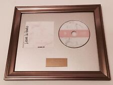 PERSONALLY SIGNED/AUTOGRAPHED - LIANNE LA HAVAS - BLOOD FRAMED CD PRESENTATION.
