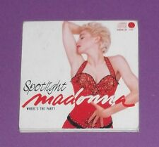 MADONNA. SPOTLIGHT. RARO MINI CD SINGLE JAPAN NUOVO !