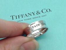 Tiffany & Co. Sterling Silver 1837 Ring UK M, US 6.5