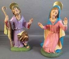 Vintage FONTANINI Nativity Depose Italy Spider Marked Figures 1960's