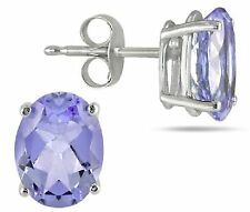 TANZANITE EARRINGS SILVER.1.50 CWT NATURAL WHITE GOLD LOOK SUPER VALENTINES GIFT