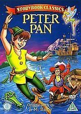 Storybook Classics - Peter Pan (DVD, 2006) Mint Condition