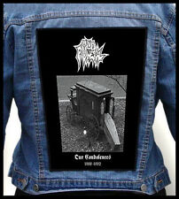 OLD FUNERAL - Our Condolences  --- Huge Jacket Back Patch Backpatch