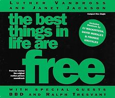 LUTHER VANDROSS & JANET JACKSON - The best things in life are free - 3 Tracks
