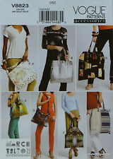Vogue 8823 Misses FASHION HANDBAGS PURSE TOTE Sewing PATTERN in 7 Styles *NEW*