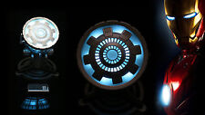 Remote Control Iron Man MK VI 1:1 Tony Stark LED ARC Reactor Prop Light