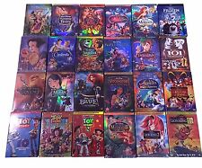 Disney DVD Lot: 14 Movies - Beauty Beast, Snow White, Cinderella Aladdin Frozen