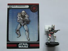 REPUBLIC COMMANDO - SEV, STAR WARS MINIATURES, CHAMPIONS OF THE FORCE 36/60