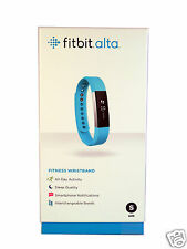 New Fitbit Alta Smart Activity and Sleep Tracker Small Teal In Stock 2016 Model