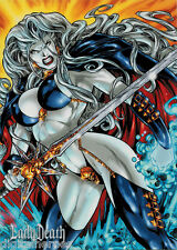 5finity Lady Death Series 2 Promo Card Philly Show 2012