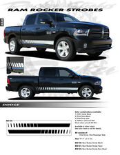 For: DODGE RAM; EE2122 Graphics Decal Emblems Stickers Stripes 2009-2016