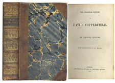 Charles Dickens David Copperfield 1850 First Edition