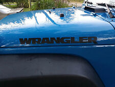 2 Wrangler Decals 22x2  jeep Stickers Graphics 4x4 Off Road Banner TJ CJ YJ LED