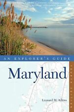 Explorer's Guide Maryland (Fourth Edition)  (Explorer's Complete), Adkins, Leona