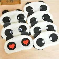 2x Panda Face Eye Travel Sleep Cute Lightproof Mask Blindfold Portable Nap Cover