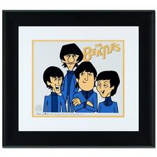 """""""The Beatles!""""  Peter, Paul, John and Ringo Limited Edition Sericel Framed"""