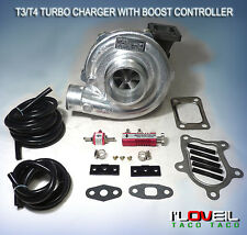 T3/T4  T04E .63 AR TURBOCHARGER + IN CABIN MANUAL TURBO BOOST CONTROLLER T3 T4