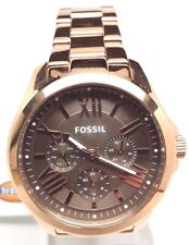 Fossil Cecile Multifunction Rose Gold-Tone Ladies Watch AM4533