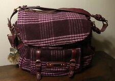 JUICY COUTURE Pendelton Blue Wool Messenger Bag Handbag & Wallet (MAKE AN OFFER)