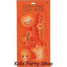 Halloween Party - 5 Assorted Halloween Cookie Cutters - Free Post in UK