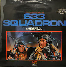"OST - SOUNDTRACK - 633 SQUADRON - RON GOODWIN  12"" LP (M970)"