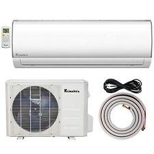 Klimaire 12000 Btu 15 SEER Ductless AC Mini Split Inverter Heat Pump System 115V