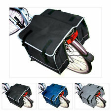 DOUBLE BICYCLE BAG PANNIER RACK SACK BIKE OFFER