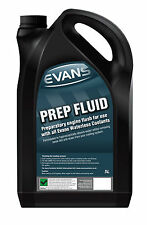 EVANS WATERLESS COOLANTS PREP FLUID / ENGINE FLUSH, 5 LITRES, ALL CARS