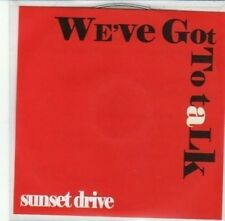 (DG232) Sunset Drive, We've Got To Talk - DJ CD