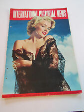 Vintage International Picture News Marilyn Monroe Back Cover May 1953